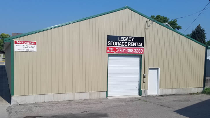 Legacy Storage Rental in Barnesville, MN